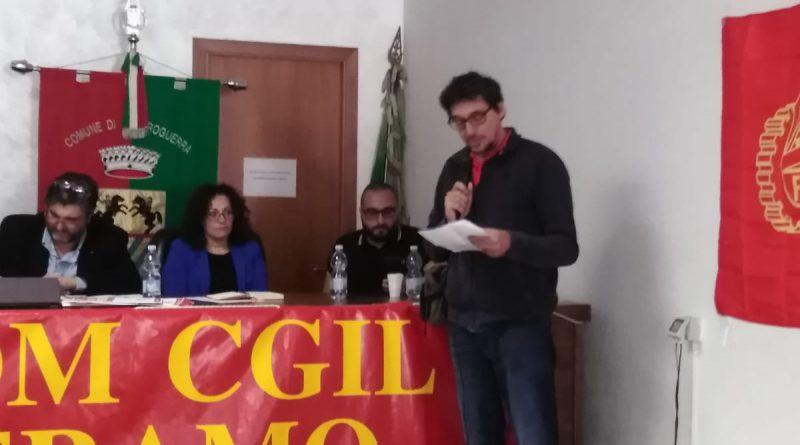 INTERVETO DEL COMPAGNO DELEGATO GIUSEPPE TIBERO AL CONGRESSO PROVINCIALE DELLA FIOM CGIL TERAMO