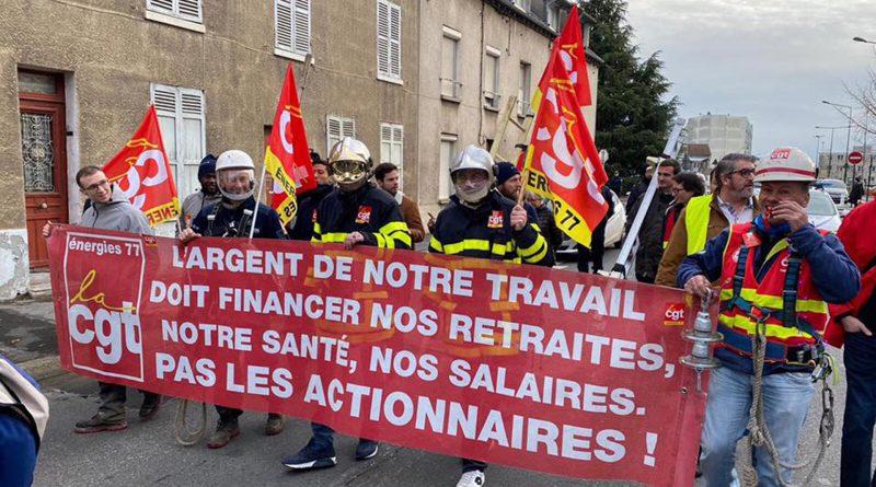Il grande sciopero dei lavoratori francesi